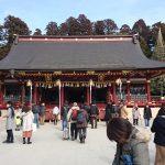 塩竈神社で遅めの初詣